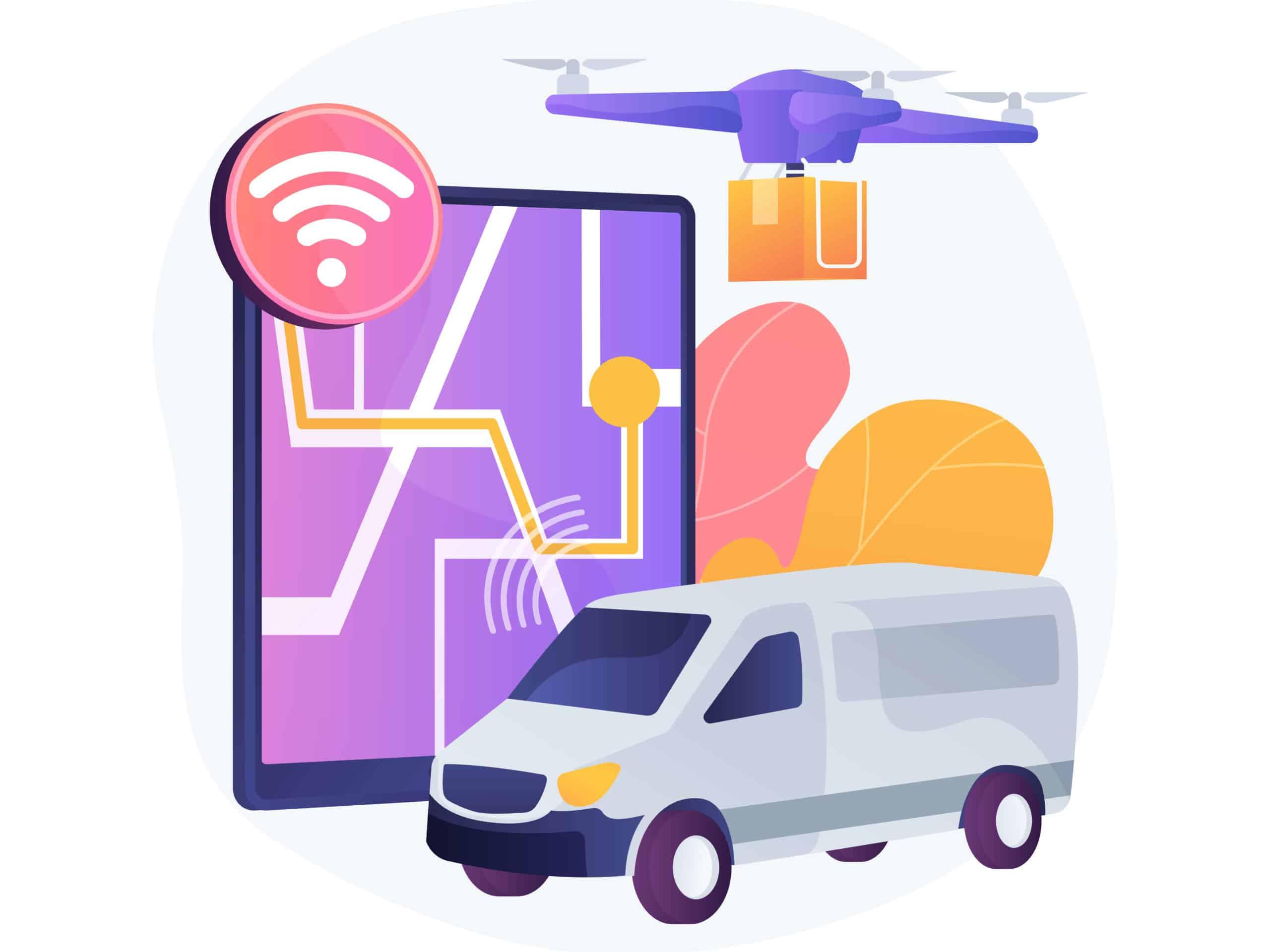 Logistik E-Commerce eFood